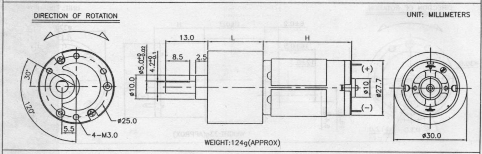 555p简易有刷电机驱动电路